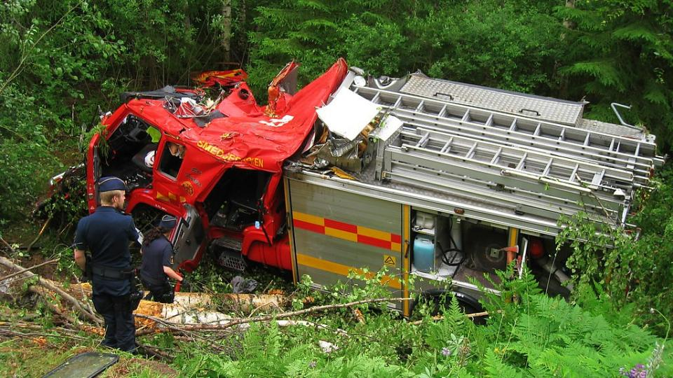 Emergency driving, a risk that is always present during turn-outs