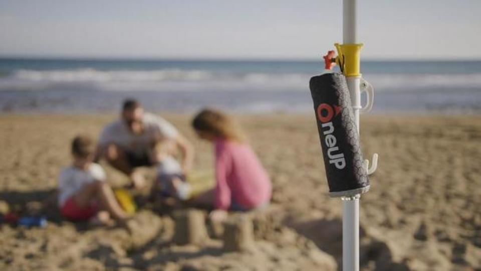 One Up Saves Life Buoy