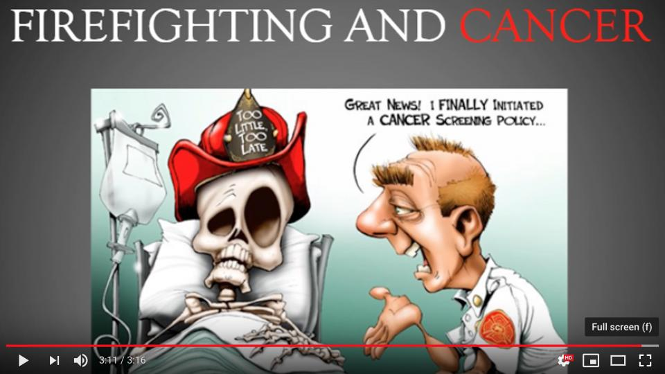 Firefighting and cancer