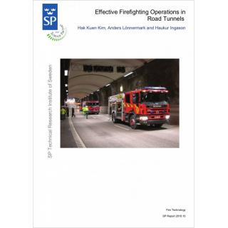 Effective firefighting operations in road tunnels